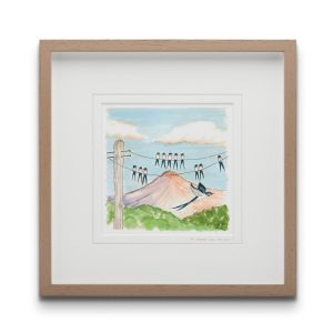 To Where Will You Fly Framed Art Print