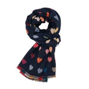 Ladies Hearts Fashion Scarf