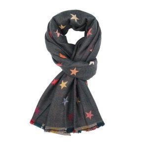 Ladies Stars Fashion Scarf
