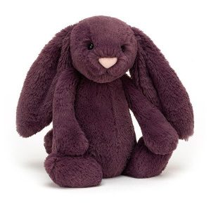 Jellycat Bashful Plum Bunny